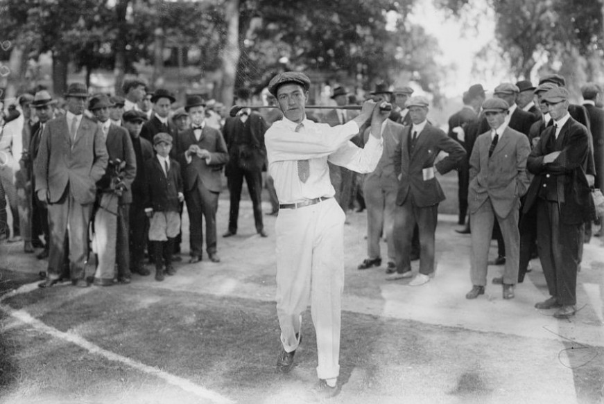 The father of amateur golf Francis Ouimet